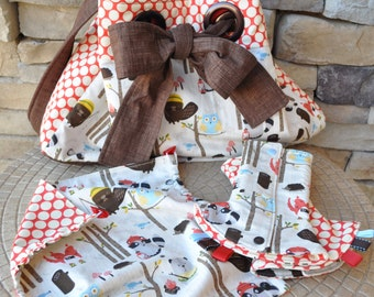 SALE - Tula Accessory Set - Shoulder Bag, Drool pads, and Hood