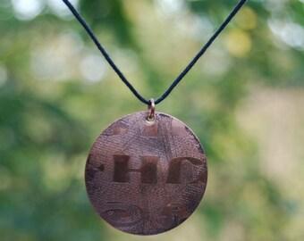 Large Sequoyah Pendant Necklace