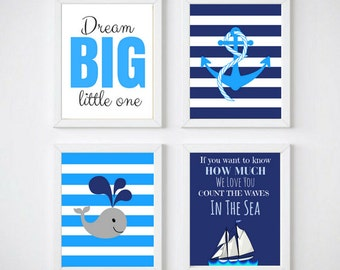 Baby Boy Wall Art baby boy wall decor | etsy