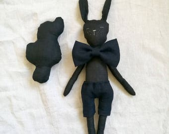 Linen bunny