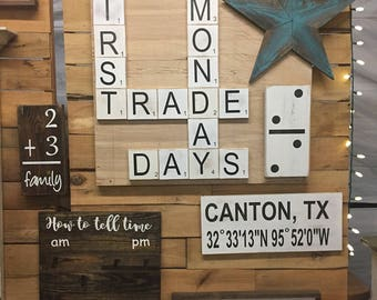 handmade large scrabble tile home scrabble tiles love scrabble tiles home decor - Home Decor Tile
