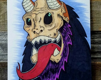 MonsterRot Nightmares Krampus