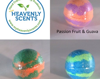 Large 4.5 oz Fizzy Bath Bombs - Lush Styles - Pick Your Scent - Free Shipping