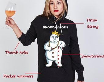 Snowtorious (TM) © - Hoodie Dress - Limited item