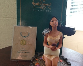 Walt Disney Classics Collection Pocahontas Listen With Your Heart