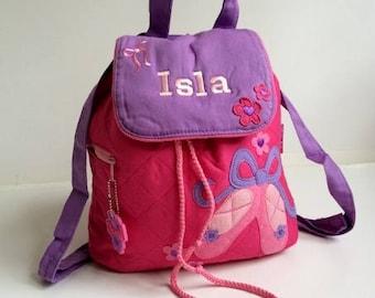 Personalised Stephen Joseph Ballet Backpack