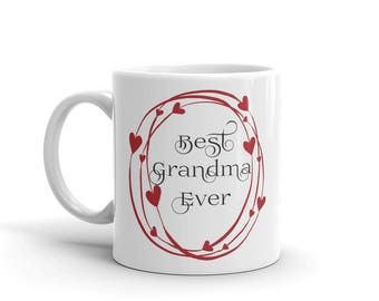 11 oz Coffee Mug: Best Grandma Ever