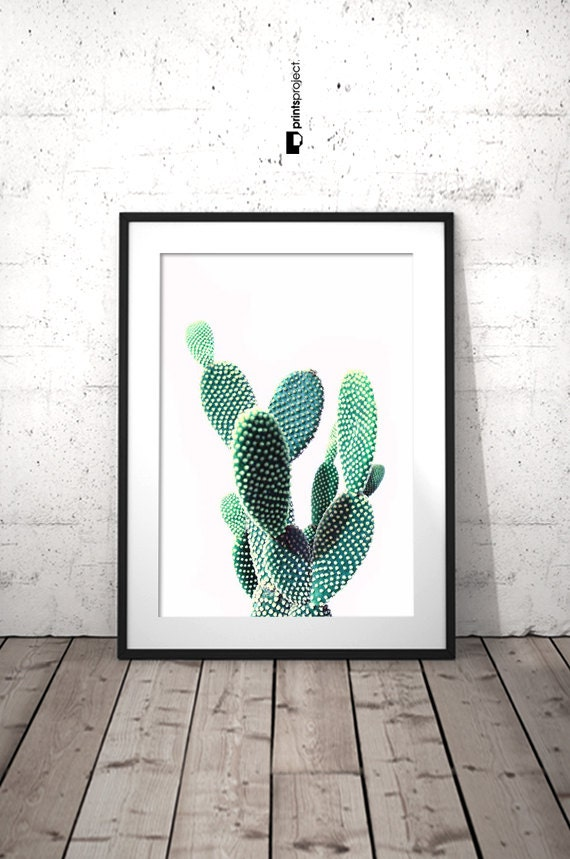 cactus wall art desert print cactus decor cactus art cacti. Black Bedroom Furniture Sets. Home Design Ideas