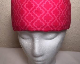 Freezeit! Migraine Headwraps Light Pink Dark Pink