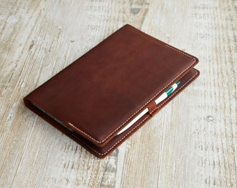 Leather Notebook Cover , Personalized Notebook cover, Leather Moleskine Cover, Handmade leather cover, mens custom, gift, leather notebook.