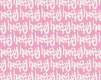 SALE...KNIT Happy Whisper Fabric Yardage Here Comes the Fun Art Gallery Fabrics by the Half Yard