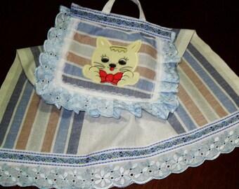 Decorative linen towel