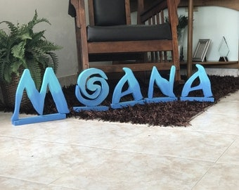 Moana Custom Name Party