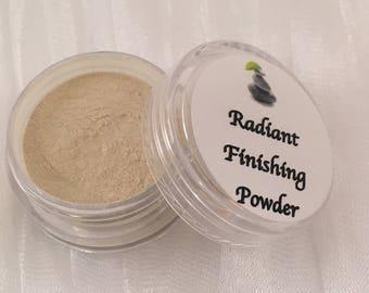 Face Powder - Radiant - Finishing Powder - Vegan Mineral Face Powder - Cruelty Free Makeup - Vegan Mineral Makeup - Mineral Make Up