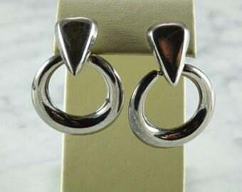 Sterling Silver Dangle Earrings (pierced)