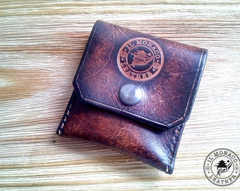 purses, leather purses, unisex, gift for him, gift for her, borsellino, custom