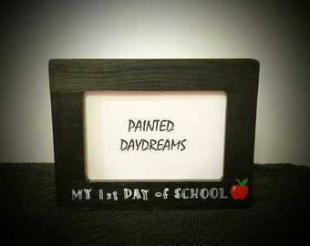 My 1st Day of School Picture Frame