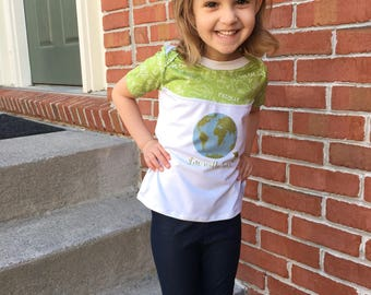 I'm With Her Shirt - Earth Day Shirt - Science Shirt - Kids Earth Day Shirt - Planet Shirt - Environmental Shirt