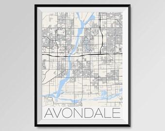 Buffalo City Map Minimalist city maps Art of Buffalo Poster