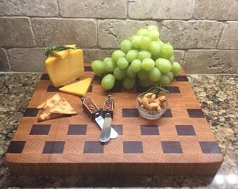 Cutting board, Checks on board, Cheese Board, Bread Board, #19