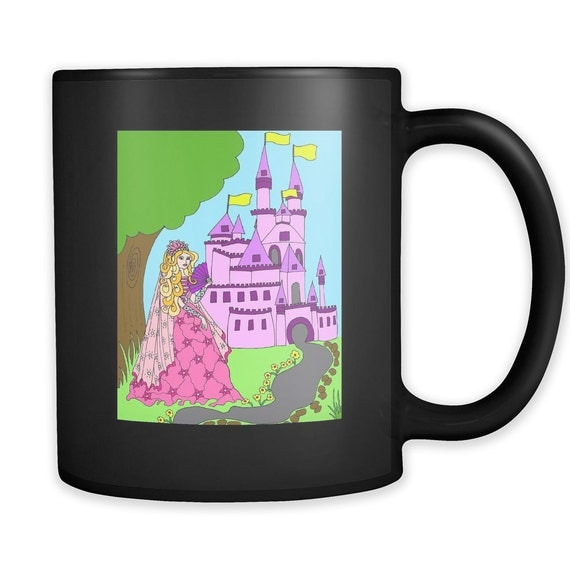 Princess Amber's Castle Coffee Mug Princess Best Gift Ideas For Your Little Princess