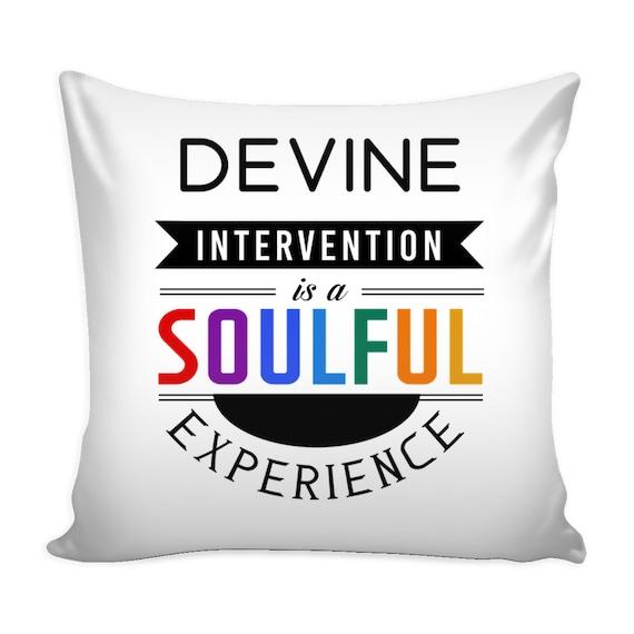 Pillow Cover - Devine Intervention