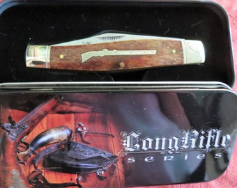 Rough Rider Stockman Folding Pocket Knife - Long Rifle Series