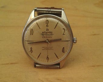 Vintage ATLANTIC Watch 21 jewels Swiss Made