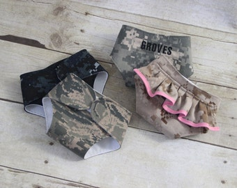 Doll Diapers - Military doll diapers - Camo Doll Diapers - Play Diapers