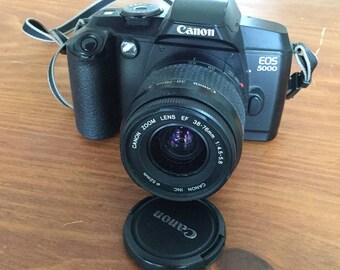 CANON  EOS5000 SLR35mm film camera, 1990s