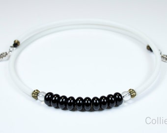 Short Onyx necklace