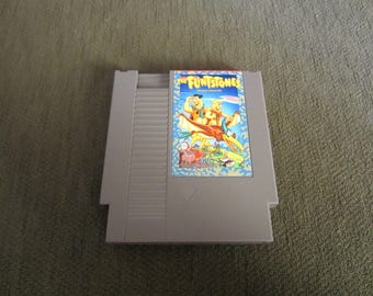 The Flinstones The Surprise At Dinosaur Peak - NES Nintendo - English