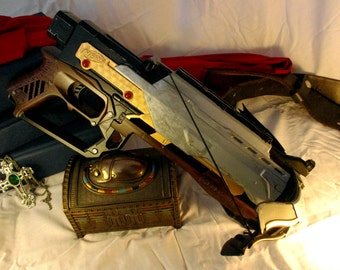 NERF Zombie Strike Crossfire Bow Blaster custom painted - Assassin's Creed Cosplay