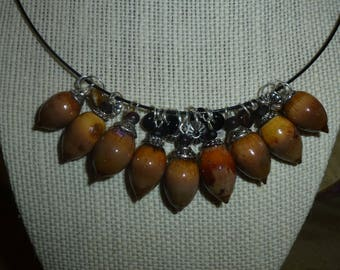 Acorn Necklace #302
