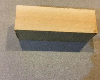 "1 2"" x 6"" basswood / linden block"
