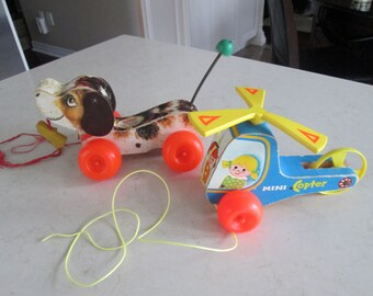 Fisher Price Mini Copter Little Snoopy