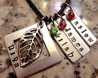 Custom Grandma Necklace