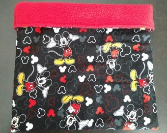 Mickey Mouse Snuggle Sack for Hedgehogs and Other Small Animals