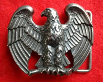 Majestic Eagle belt buckle
