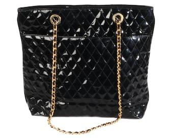 Suzy Smith vintage quilted handbag