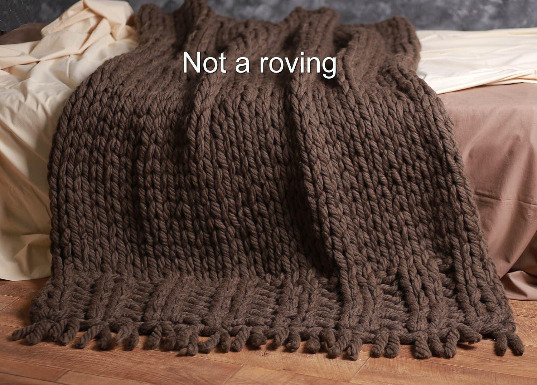 grob gestrickte decke wirft wolle decke chunky knit werfen. Black Bedroom Furniture Sets. Home Design Ideas