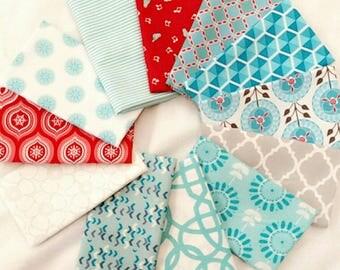 Fabric 12 Fat Eighth Bundle