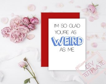 DIY Print your own Valentine's Day Card, Funny/Rude Anniversary, Funny Husband Valentine Card, Funny love card, Funny Wife birthday card
