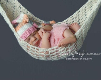 Hammock Newborn Photography Prop