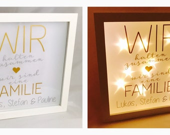 """""""We keep frame star film together... With or without a name! """", Shadow box, Shadowbox, lightbox"""""""