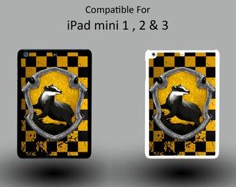 Harry Potter Hufflepuff House Witchcraft Hogwarts Hard Plastic iPad Mini 1/2/3 Cover IPM057