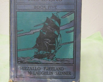 Fact and Story Readers Book Five** Suzzallo* Feeland* McLaughlin* Skinner ** 1934 **sj
