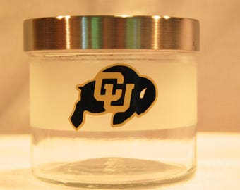 University of Colorado Treat Jar, CU Boulder Gift, CU Grad Gift