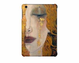 iPad case for iPad Mini 4, iPad Mini 3, iPad Mini 2, iPad Air, iPad Air 2, iPad Pro 9.7 inch, iPad Pro 12.9 inch, art hard case Klimt, gold