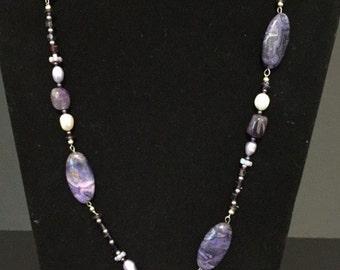 Beautiful Purple necklace